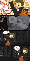 halloween in purgatory by deanosaurrawr