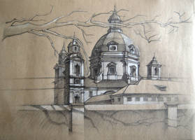monastery_drawing by oriondeft
