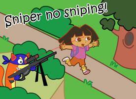 Sniper no Sniping by DDRshaman38