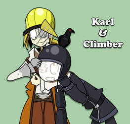 Karl and Climber by DDRshaman38
