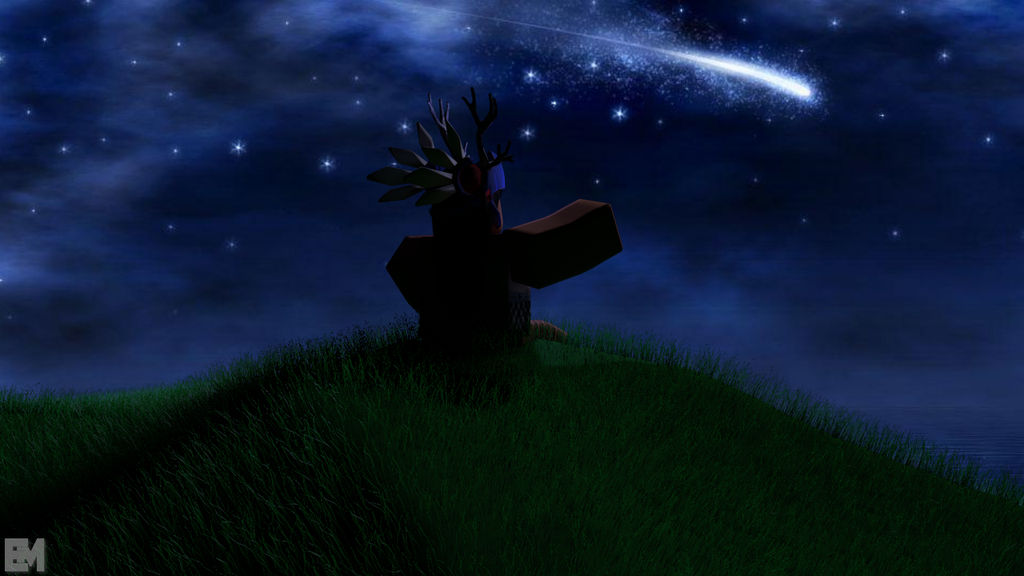 Shooting Stars Roblox Gfx By Emtsoccer On Deviantart