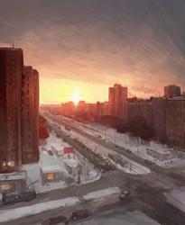 Dawn by Selann