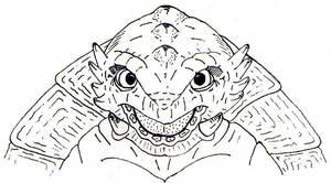 Gamera Sketch by jamsketchbook