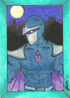 Darkhawk - Cartoon Style by jamsketchbook