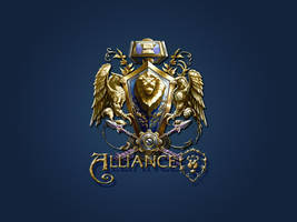 WOW - Alliance Seal by vikoy