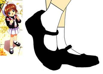 Cardcaptor Sakura's Shoes by BrendyFlatsMJFF
