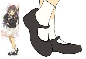Tomoyo Daidoji's Shoes by BrendyFlatsMJFF