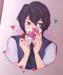 Valentine's day Youji by lex-haru