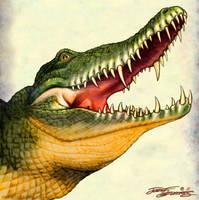 Crocodile.Szekeres. by Jozef-Szekeres