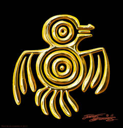 EagleWarrior.SymbolicBird.Szekeres by Jozef-Szekeres