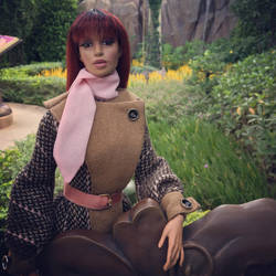 GlamourOz Dolls' Bindi Merindah at HK Disneyland. by Jozef-Szekeres