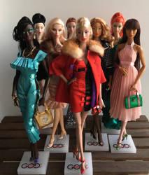 GlamourOZ Dolls Mainline Editions by Jozef-Szekeres