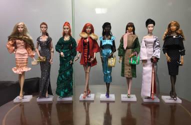 The GlamourOZ Doll line. Quality Control Garments by Jozef-Szekeres