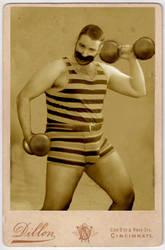 Circus Strongman by HighwindDesign