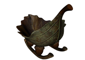 Leaf Sleigh png by mysticmorning