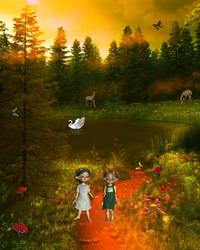 A Walk in Nature by mysticmorning