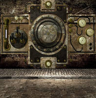 Steampunk Background by mysticmorning