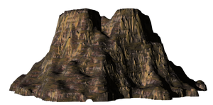 Mountain png stock 2 by mysticmorning