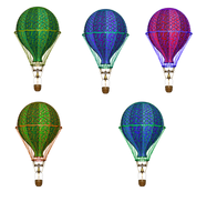 Hot Air Baloons png by mysticmorning