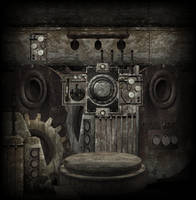 SteamPunk Background stock by mysticmorning