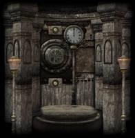SteamPunk Background 2 by mysticmorning