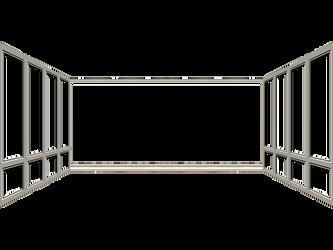 Room Window Frame by mysticmorning