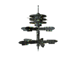 Orbital Station png by mysticmorning
