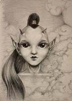 DNE - little prince of horns by nessanumen