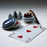 week 29: three od hearts by nessanumen