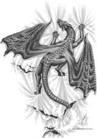 Crawling Dragon by Gildhartt