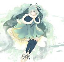 Snow miku (2) by Nanatsuki-Jinko