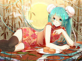 Happy Mid-Autumn Festival by Nanatsuki-Jinko
