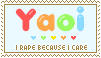 Yaoi Stamp by ki55-me