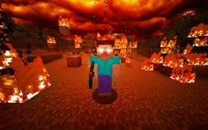 Minecraft - Herobrine by JohnTuley
