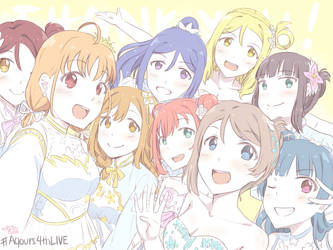 Aqours 4th Live - Sailing to the Sunshine - by AyaNagisa