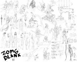 Sketch Dump 1 by CrimsonGear