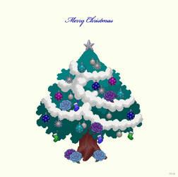 Christmas tree 2 by YuukiMokuya
