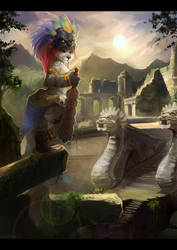 .: Ruins Of The Sun :. by JuliaTheDragonCat