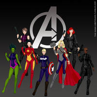 The Avengers by the-saga-c0ntinues
