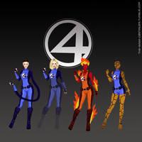 Fantastic Four by the-saga-c0ntinues