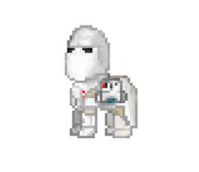 MLP Star wars Snowtrooper by DrAdalwinMuller