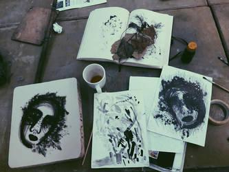 Artwork by carolineisdead