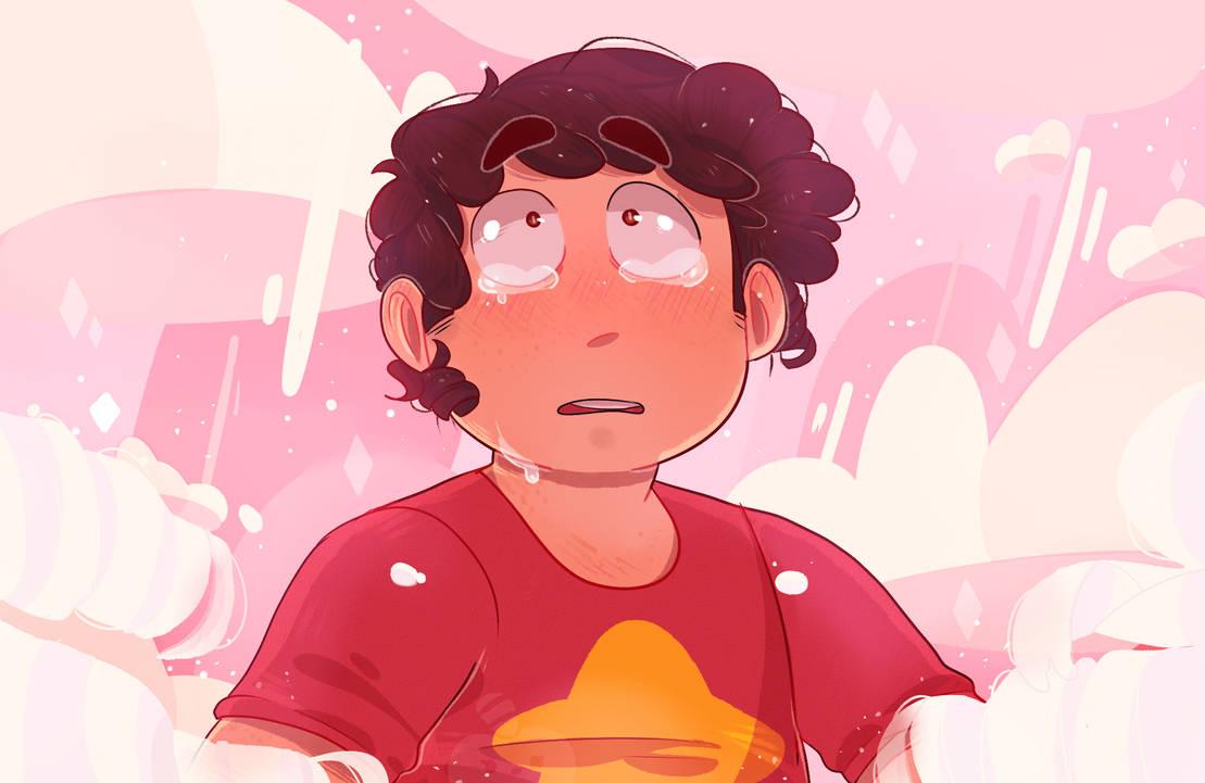 """uFFF HABLANDO DE WEAS VIEJAS Bueno no, no es tan viejo este dibujo (like, marzo creo). Fanart para el capitulo de Steven Universe """"Storm in the Room"""" Lloré un poco, UN POCO Y perdon si esta fe..."""