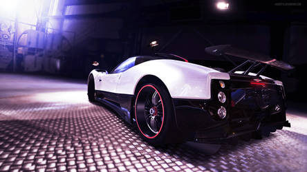 2009 Pagani Zonda Cinque Roadster by huddsyfx
