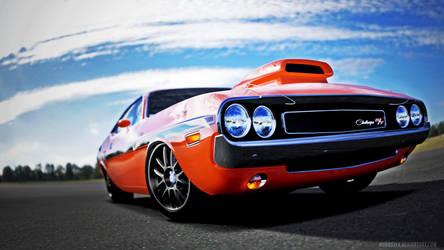 1970 Dodge Challenger R/T by huddsyfx