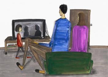 Living room by SiminaArt