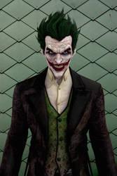 Batman Arkham Origins - The Joker by IshikaHiruma