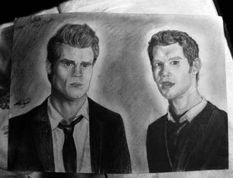 Stefan and Klaus by Ttishi