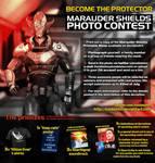 Marauder Shields Photo Contest [Contest Ended] by koobismo