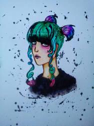 Random girl by ViktorStefan